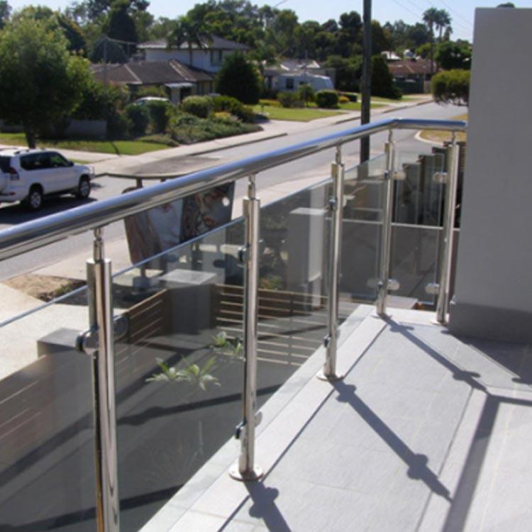 Glass Railing Post