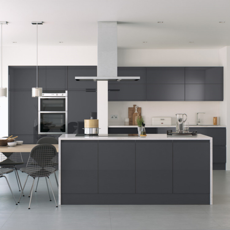 Modern High Gloss Lacquer Kitchen Cabinet