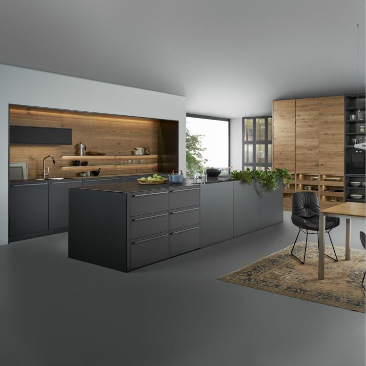 Matt Lacquer Modern Kitchen Cabinet