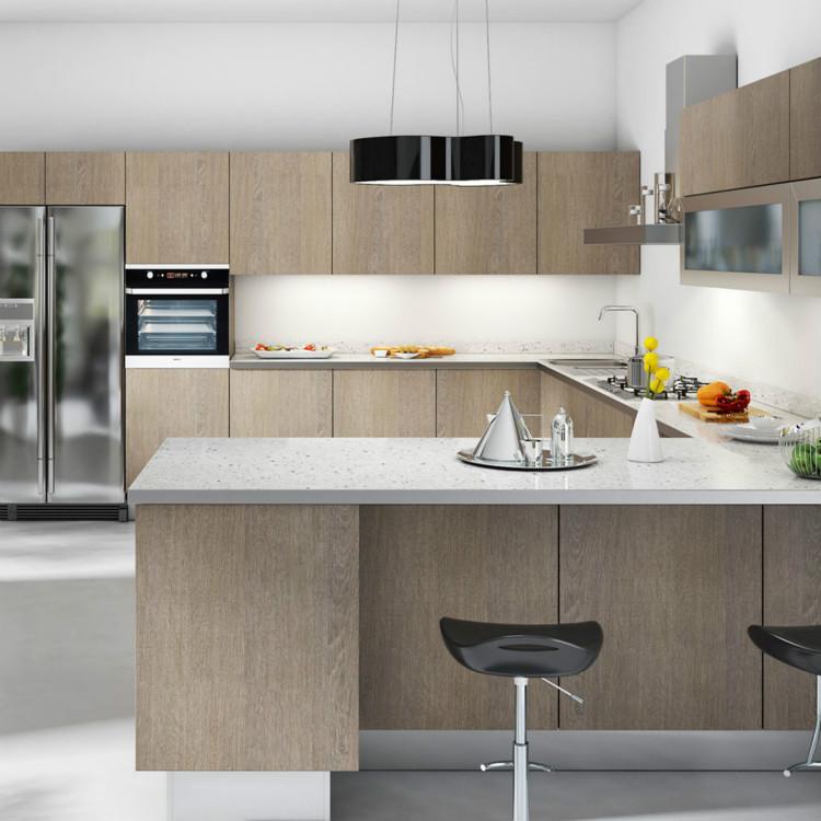 Modern Melamine Kitchen Cabinet