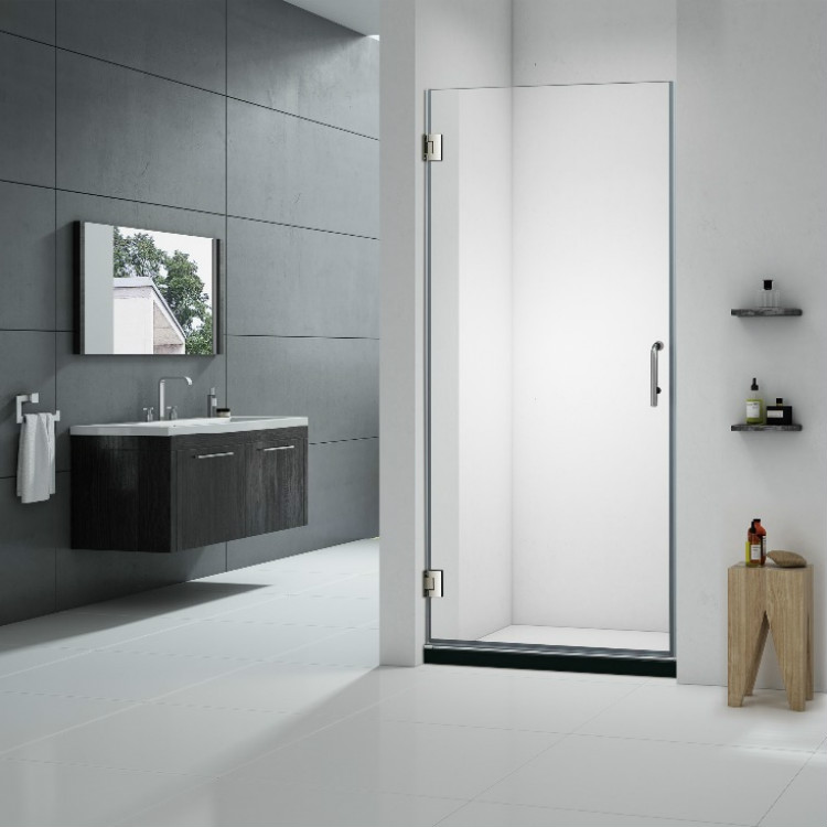 Hinged Glass Shower Panel