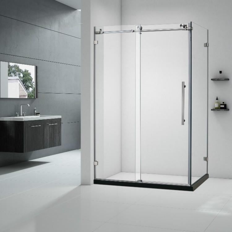 Tempered Glass Rectangular Shower Room