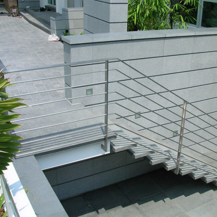 Exterior Stainless Steel Staircase Railing