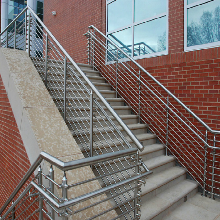 Commercial Stainless Steel Railing Design