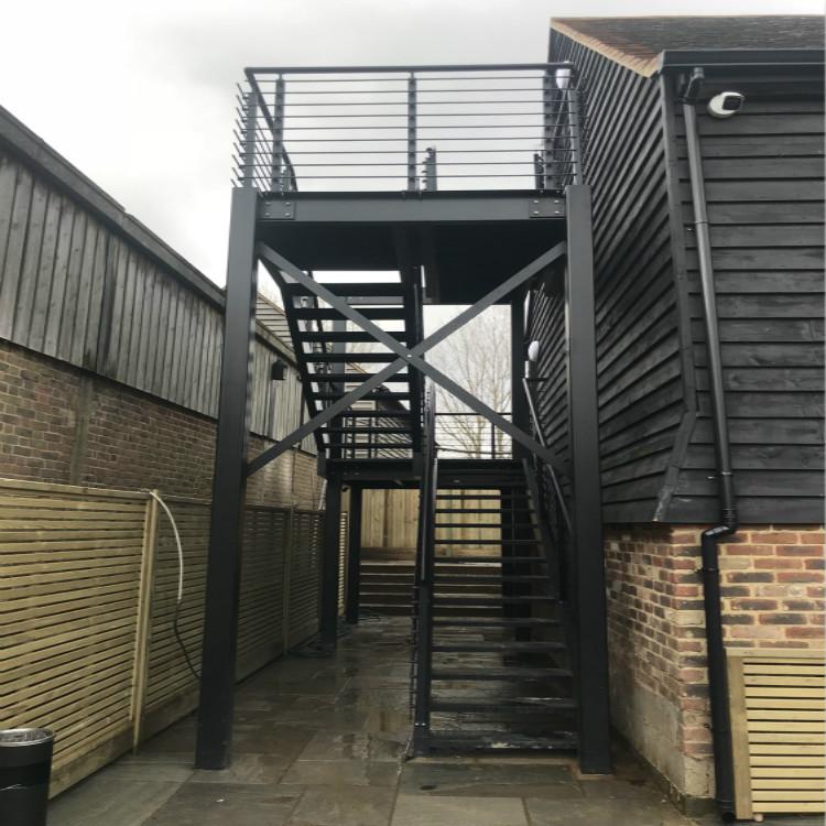 Exterior Steel Stair UK