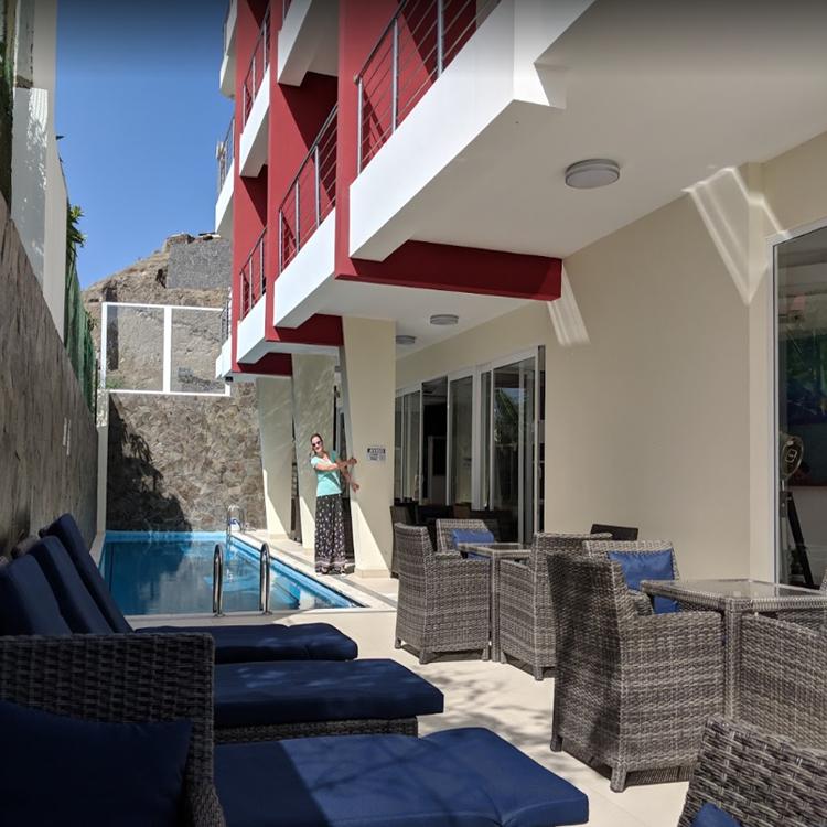 Hotel Rod Railing In Cape Verde Islands