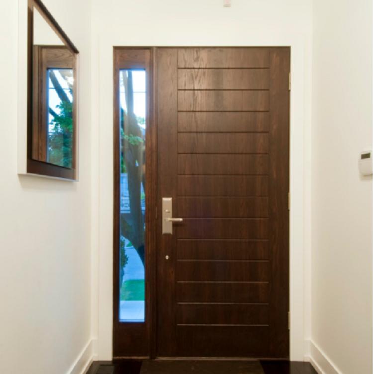 Heavy Duty Timber Pivot Door Design Wood Exterior Entry Door