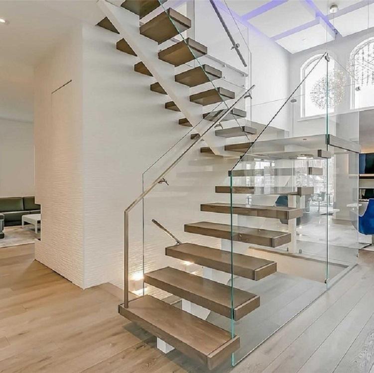 Mono beam Glass Railing Stair