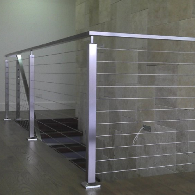 New modern free design indoor cable railing system