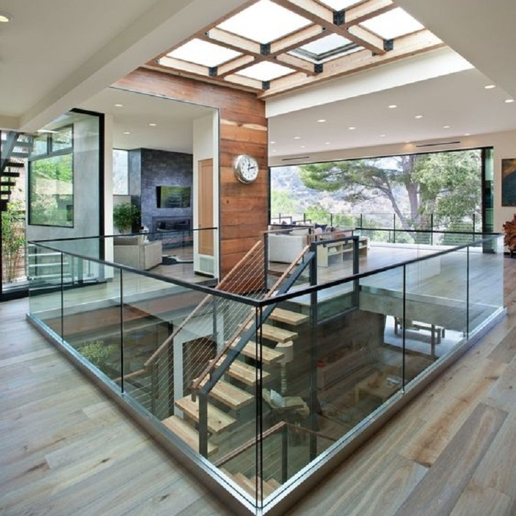 Structural Glass Guardrail Systems With U Channel