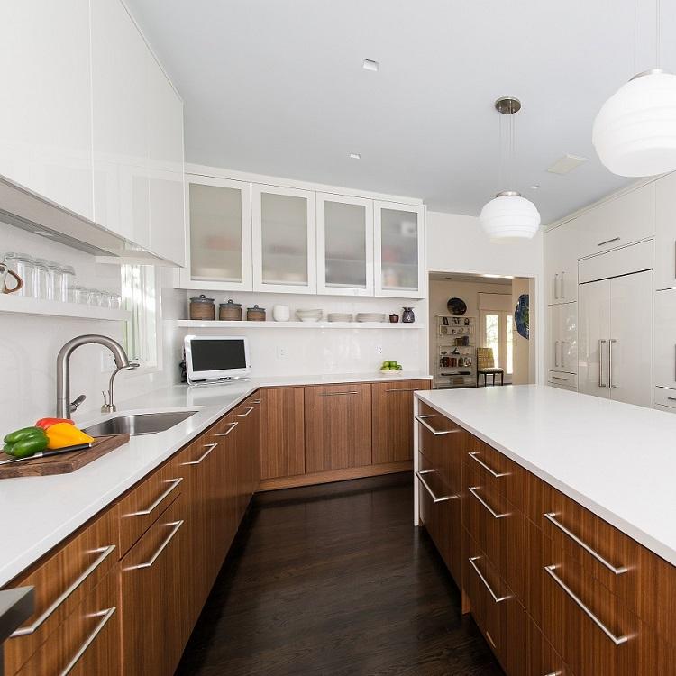 Furniture kitchen modern full set home Design Kitchen Cabinet Model
