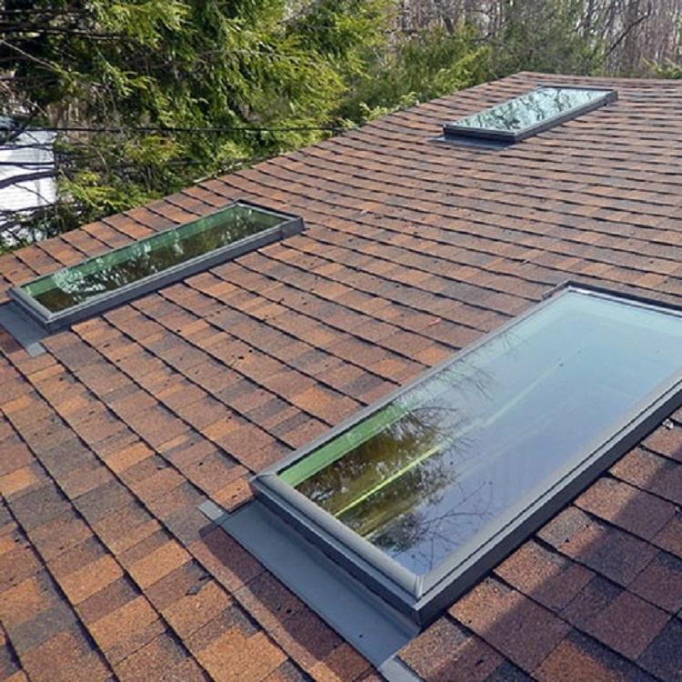 Roof skylight fixed aluminum glass window